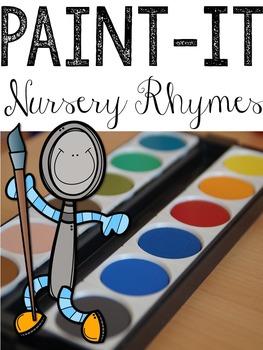 Paint-It Poem: Nursery Rhymess