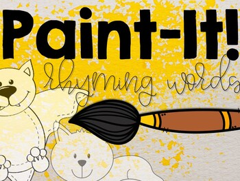 Paint-It: Rhyming Words