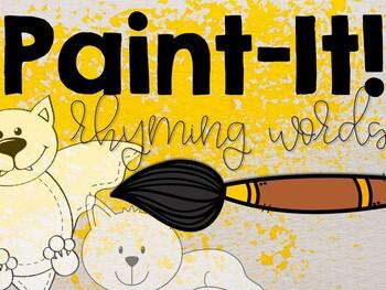 Paint-It: Rhyming Words