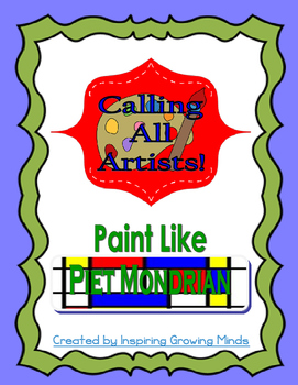 Paint Like Piet Mondrian