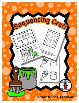 Paint Mixing - The Green Door - Sequencing Reader Mat & Craft Page