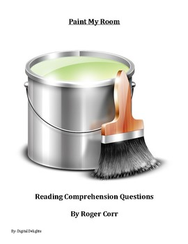 Paint My Room by Roger Corr Reading Comprehension Questions