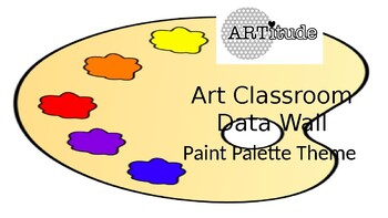 Paint Palette Data Wall