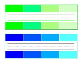 Paint Palette Nameplates