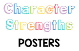 24 Character Strength Trait Posters