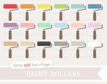 Paint Roller Clipart