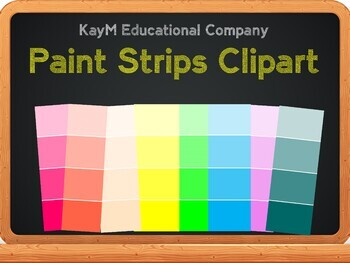 Paint Strips ClipArt