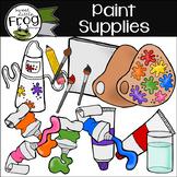 Paint Supplies Clip Art