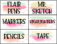 Paint Teacher Toolbox Labels-- Editable