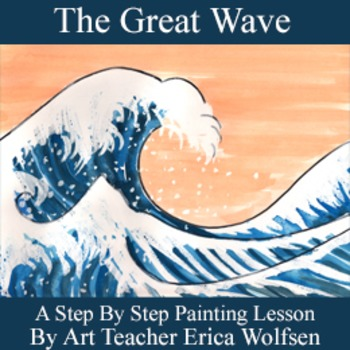 """Paint """"The Great Wave"""""""