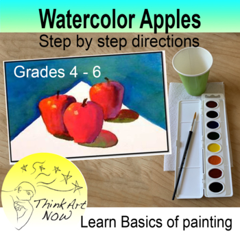 Paint Watercolor Apples