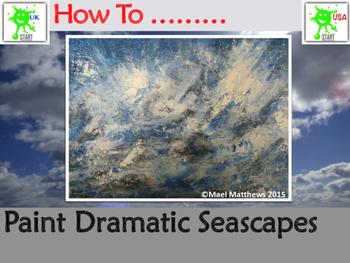 ART. Paint a Dramatic Seascape