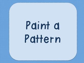 Paint a Pattern