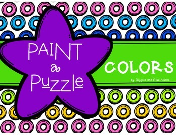 Colors: Paint a Puzzle or Interactive Notebooks!