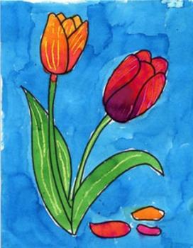 Paint a Tulip