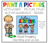 Paint a picture with words - picture study - Autism Freebie