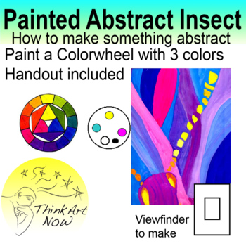 Paint an Abstract Insect