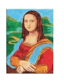 Mona Lisa - Color by Number - Using Wavelengths and Frequencies of Light
