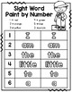 Paint by Number Sight Words - a super fun way to practice high-frequency words!