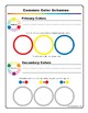 Paintable Color Wheel and Color Schemes