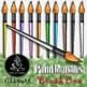 Paintbrush CLIPART BUNDLE {Paez Art Design}