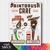 Paintbrush Care   Classroom Visual
