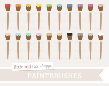 Paintbrush Clipart; Paint, Brush, Painting, Art Supplies