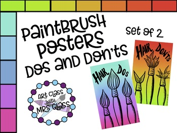 Paintbrush Posters