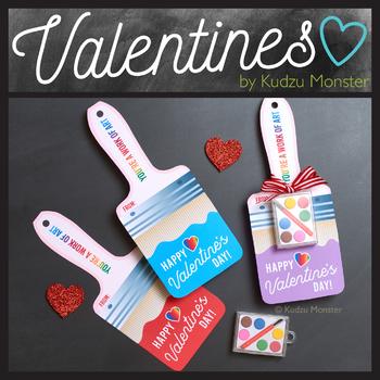 Paintbrush  Valentine