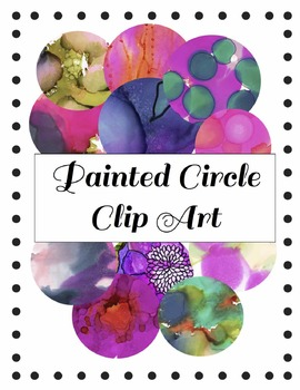 Painted Circle Clipart