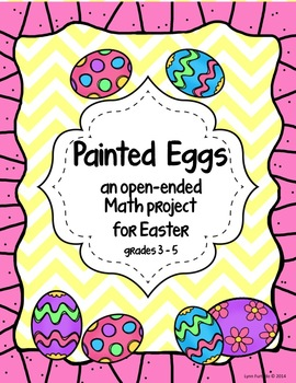Painted Eggs - an open-ended Math project for Easter