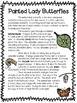 Painted Lady Butterflies ~ A Non-Fiction Reading Assessment Prompt