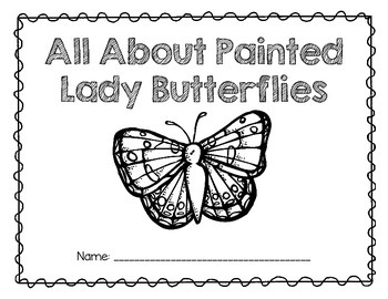 Painted Lady Butterflies: A Research and Writing Unit