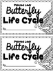 Painted Lady Butterfly Life Cycle Packet