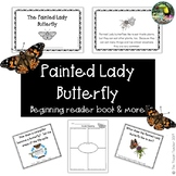 Painted Lady Butterfly emergent reader book & more