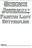 Painted Lady One Page Journal