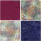 Painted - Messy Canvas Digital Paper - Drop Cloth - Art Digital Backgrounds
