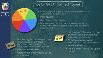 Painted Paper Tutorial Powerpoint