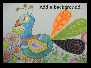 Painted Peacocks Powerpoint