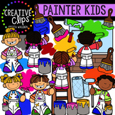 Painter Kids Clipart {Creative Clips Clipart}