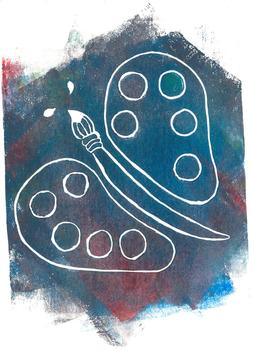 Painterfly Clip Art
