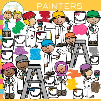 Painters Clip Art