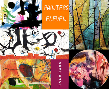 Painters Eleven ~ Canada ~ Abstract Art ~ FREE POSTER