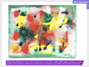 Painters Eleven Canada Abstract Art History Distance Learn Blend Learn