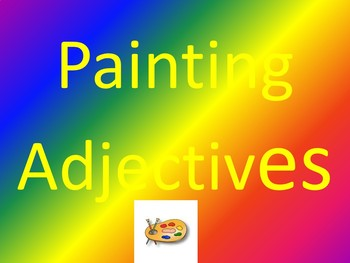Painting Adjectives
