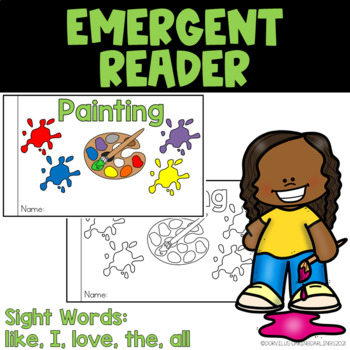 Emergent Reader - Painting