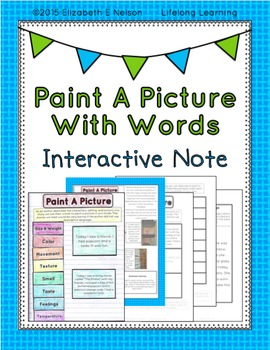 Painting A Picture With Words: Descriptive Writing Interac