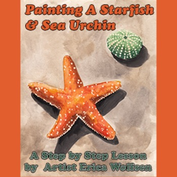 Painting A Starfish And Sea Urchin