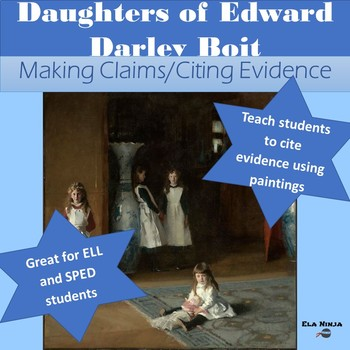 Painting Analysis: Practice Citing Evidence with Paintings: Daughters