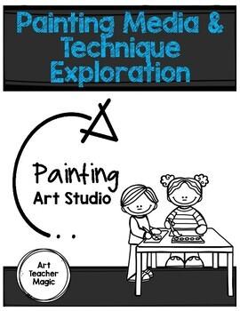 Painting Around the Art Studio TAB Choice-based